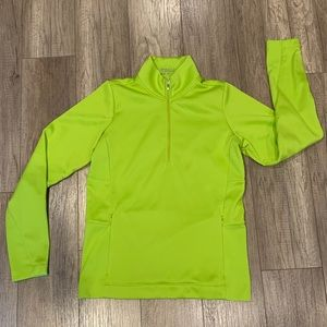 Nike Golf Jacket chartreuse Therma Fit